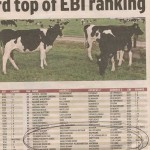 Number 50 in EBI dairy herd ranking