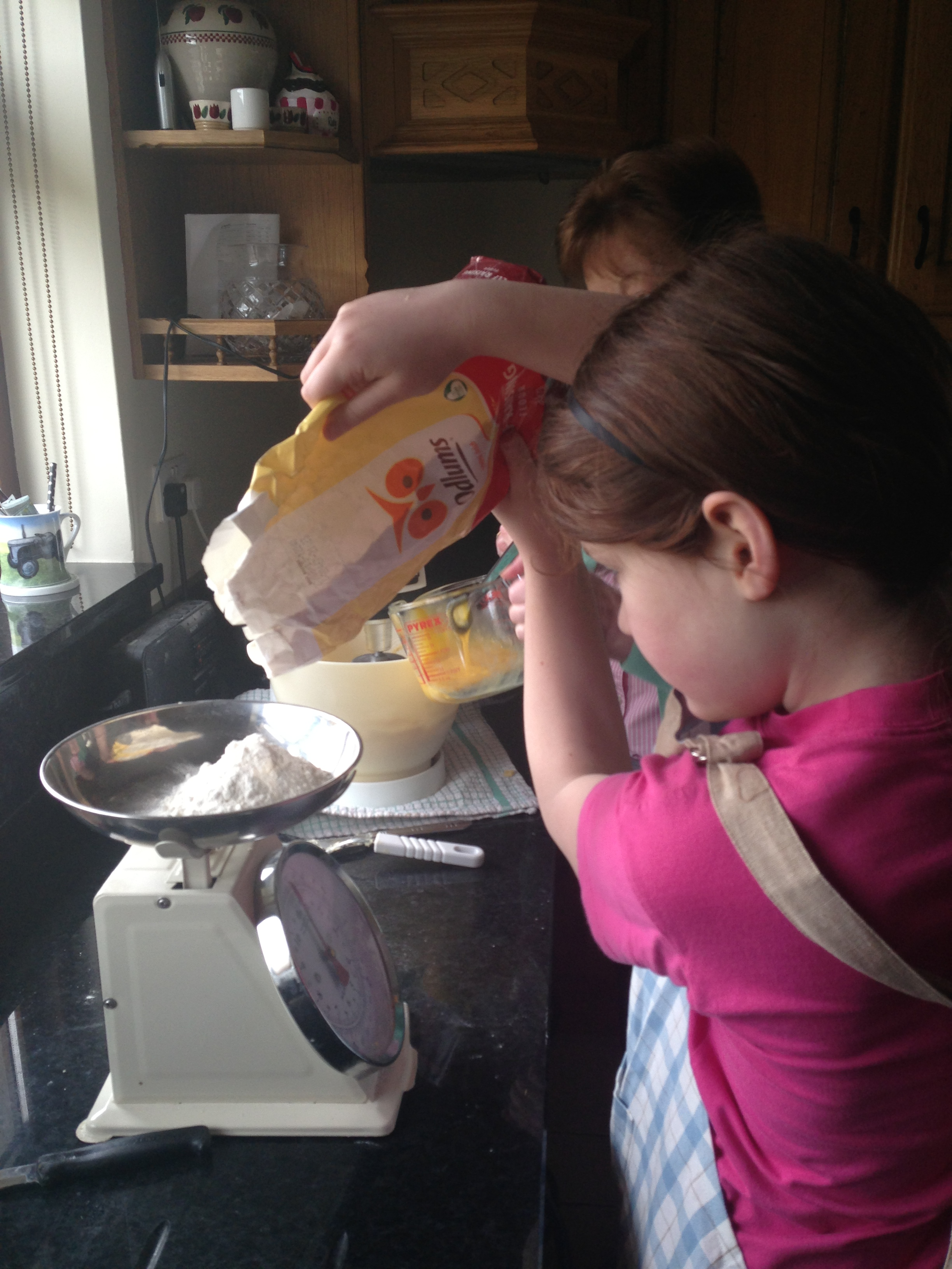 Making Coffee Cake