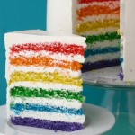 Our Rainbow Easter Cake