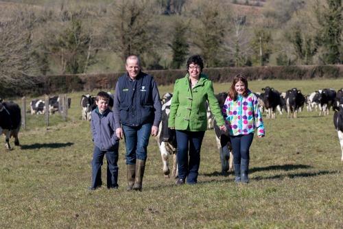 Irish Farmerette Family Photo