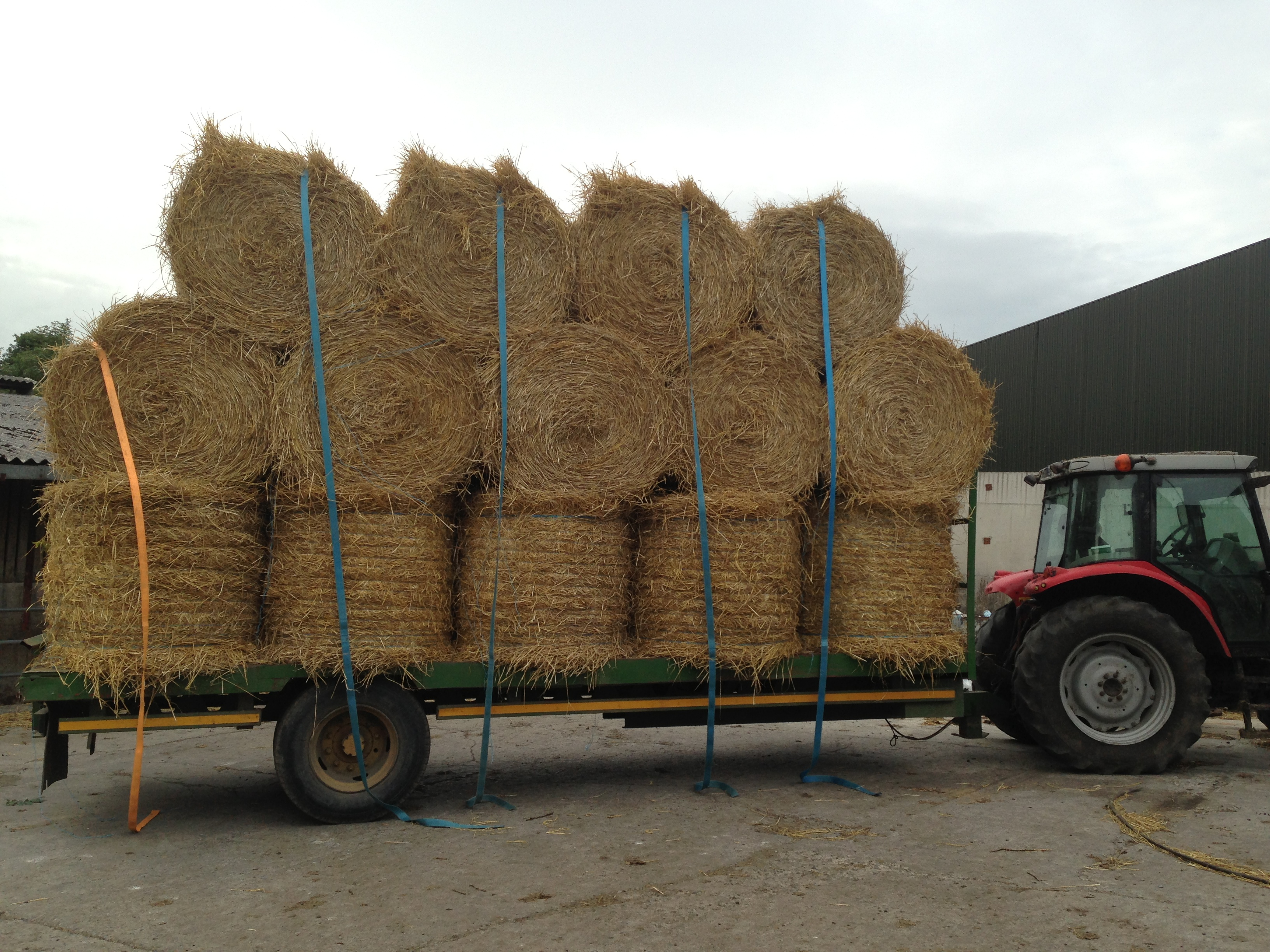 Load of straw