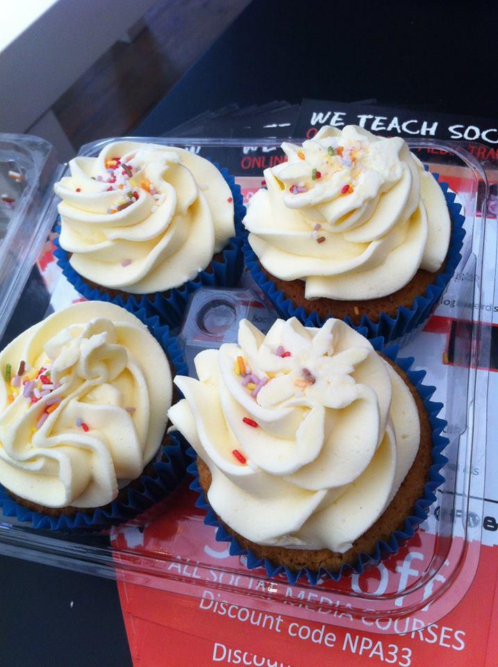 Fab Food cupcakes