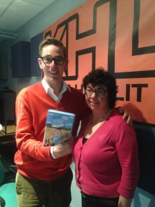 Ryan Tubridy, Me and the book!!