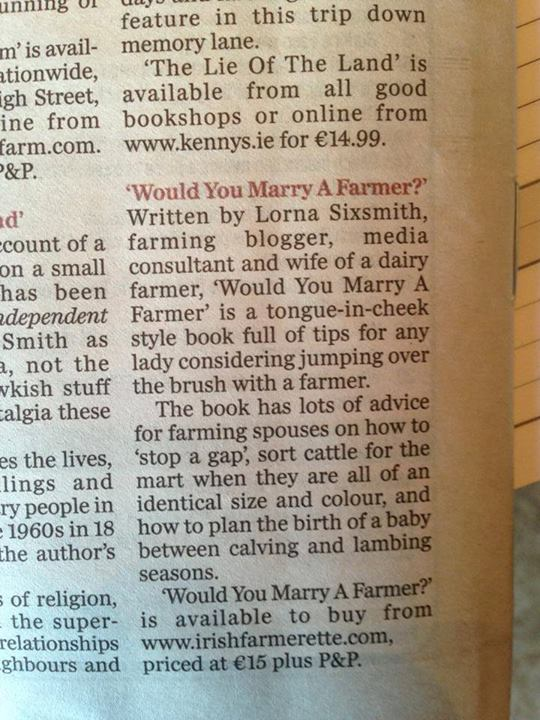 Review in Farming Independent