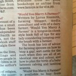 Book Progress Update of 'Would You Marry A Farmer?'
