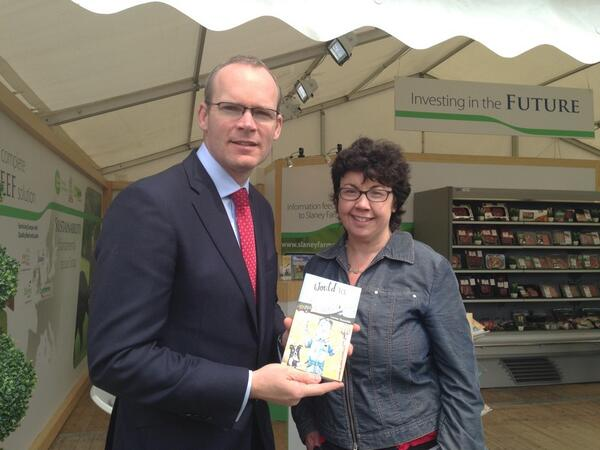 simon coveney and marry a farmer