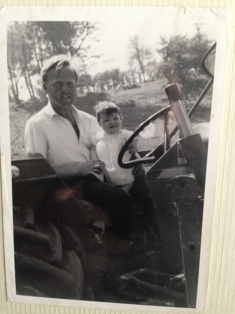 My dad and I - 1970