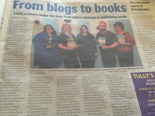Carlow Nationalist - KLCK - From Blogs to Books