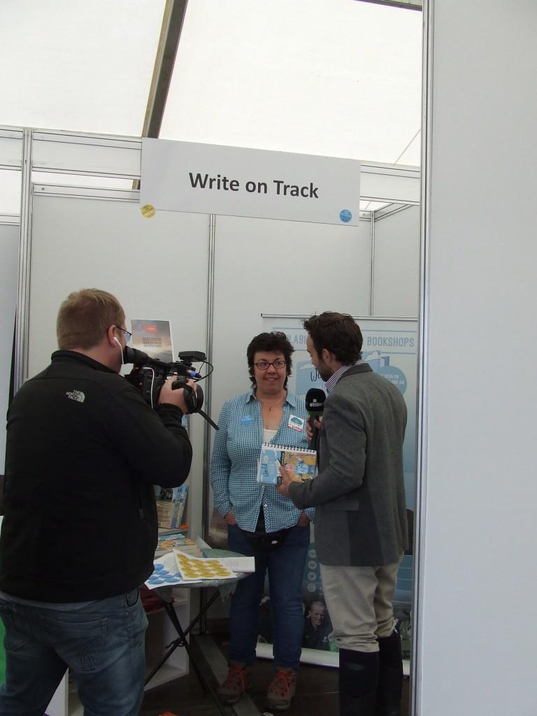 Being Interviewed on Irish TV