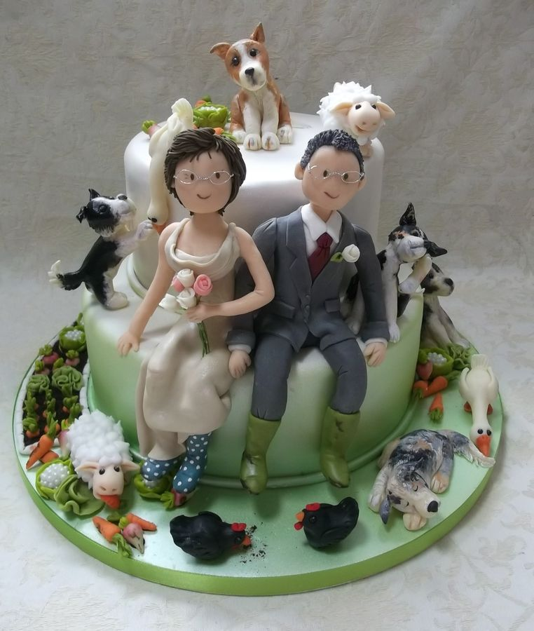 Farmers wants a wife wedding cake