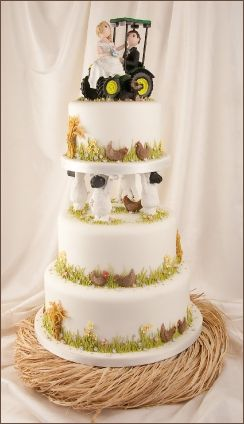 Cake Central Sheep Wedding