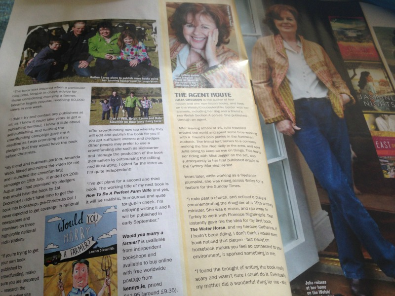 Horse and Countrywide Magazine - Feature on 3 authors and their different paths to publishing