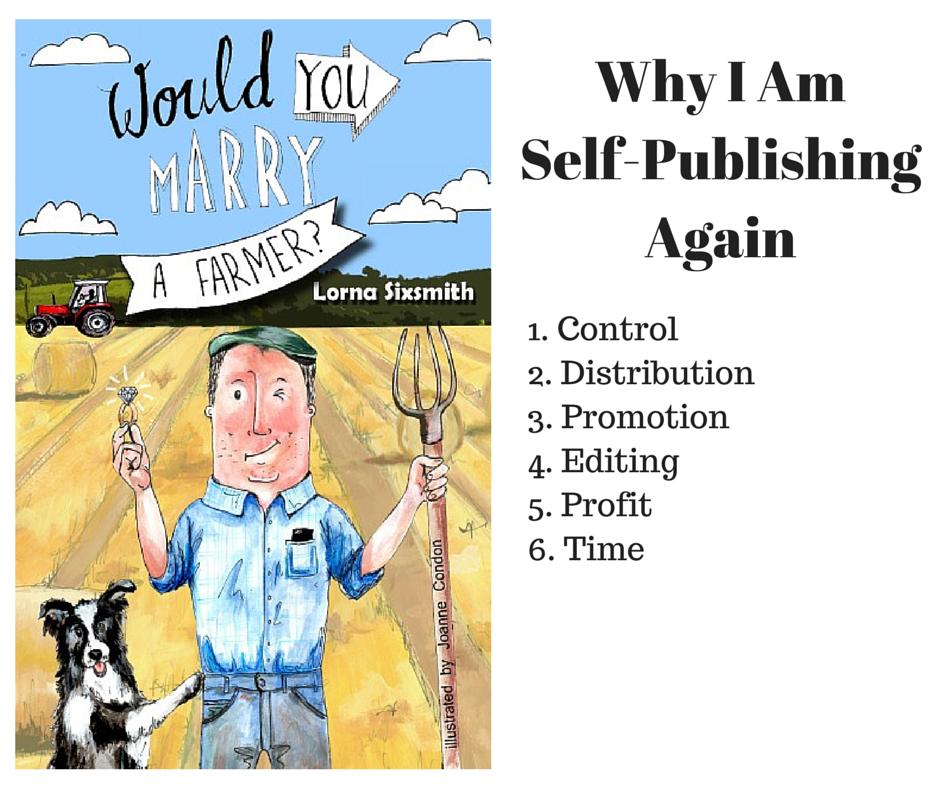 Why I Am Self-Publishing Again