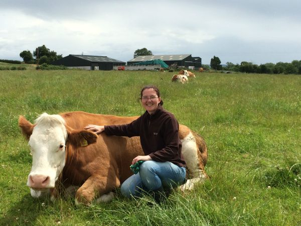 Maria Phelan - female beef farmer