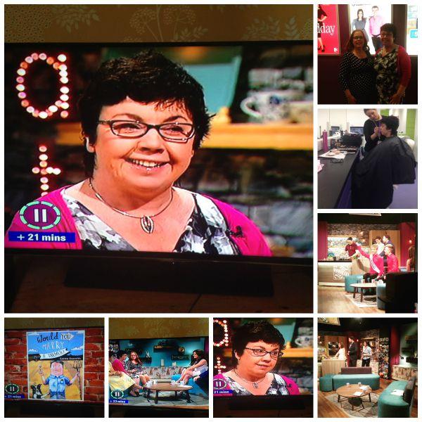 Seven oclock show Lorna Sixsmith