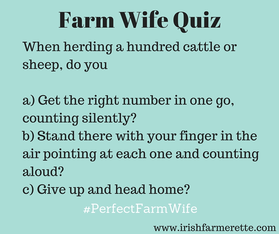 Farm Wife Quiz
