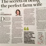 Review of Perfect Farm Wife in Irish Independent