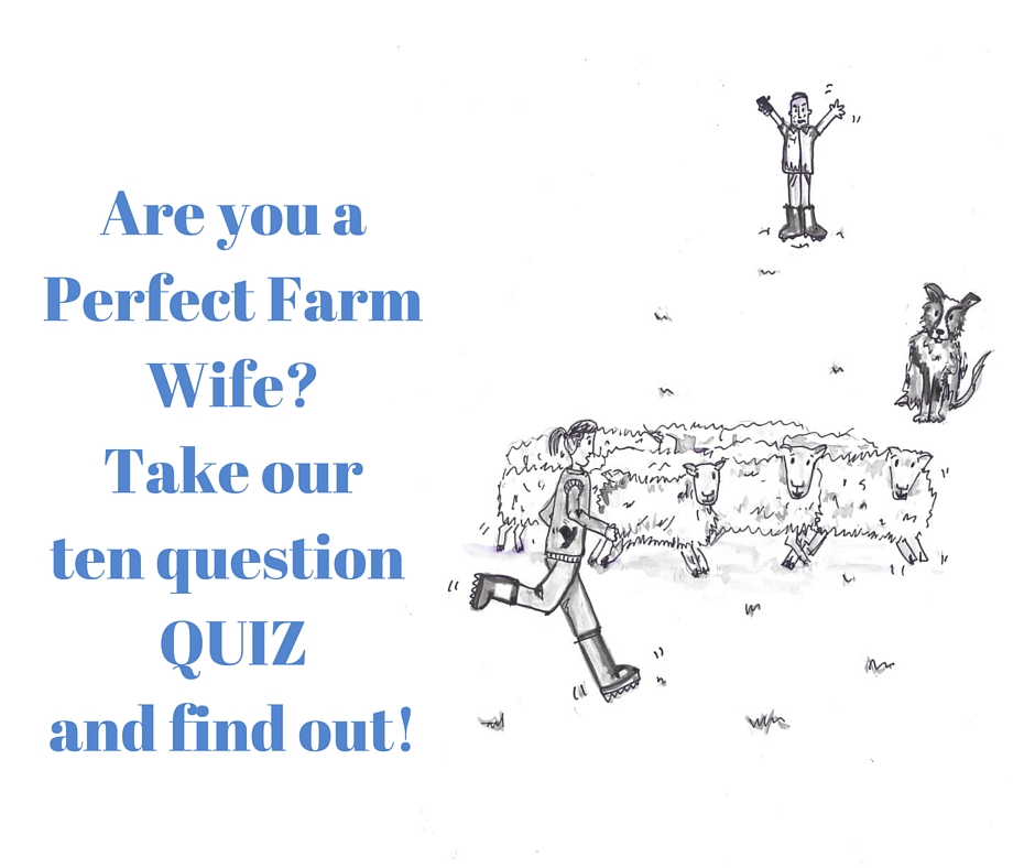 Are you a Perfect Farm Wife- Take our ten question quiz and find out!1