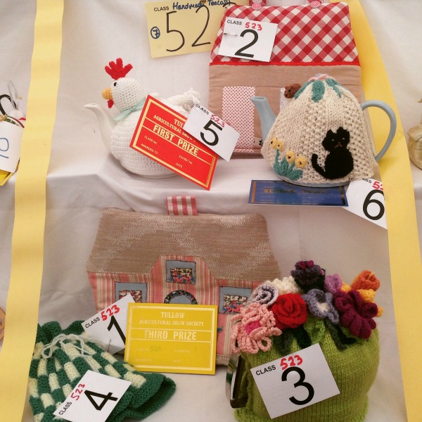 Tea Cosies at Tullow Show