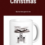 On the first day of Christmas, a Farmer Date Night Mug