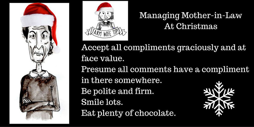 Accept all compliments graciously and at face value. Don't go looking for the deeper unsaid meanings. Be polite and firm. Smile lots. Eat plenty of chocolate.