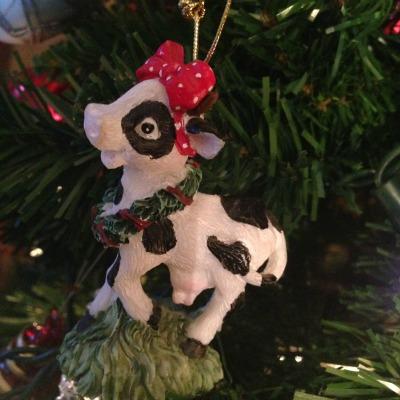 Cow decoration