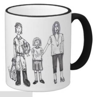 Mrs and Mrs Farmer Mug