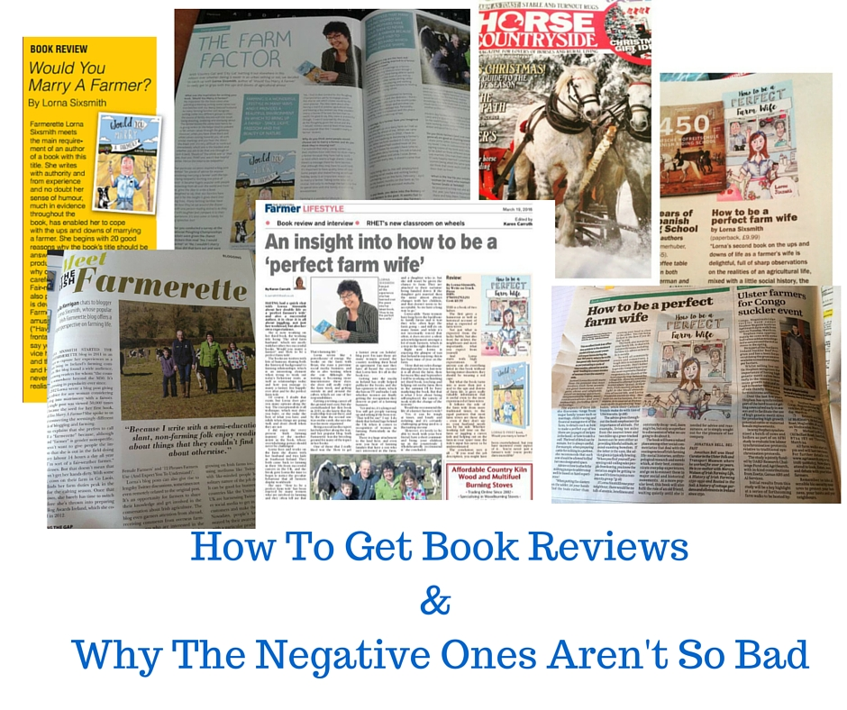 How To Get Book Reviews& Why The Negative Ones Aren't So Bad