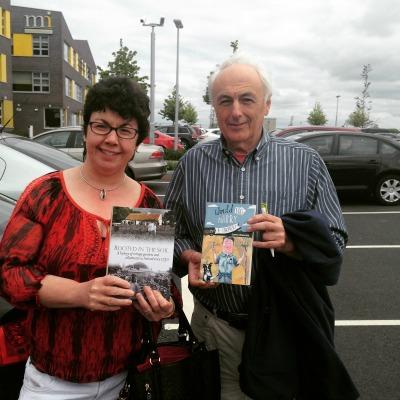 Lorna with Mervyn Watson