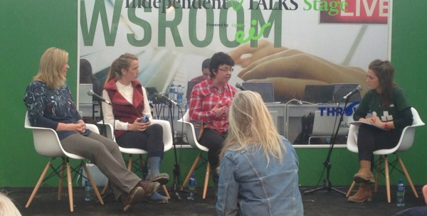 women in farming panel