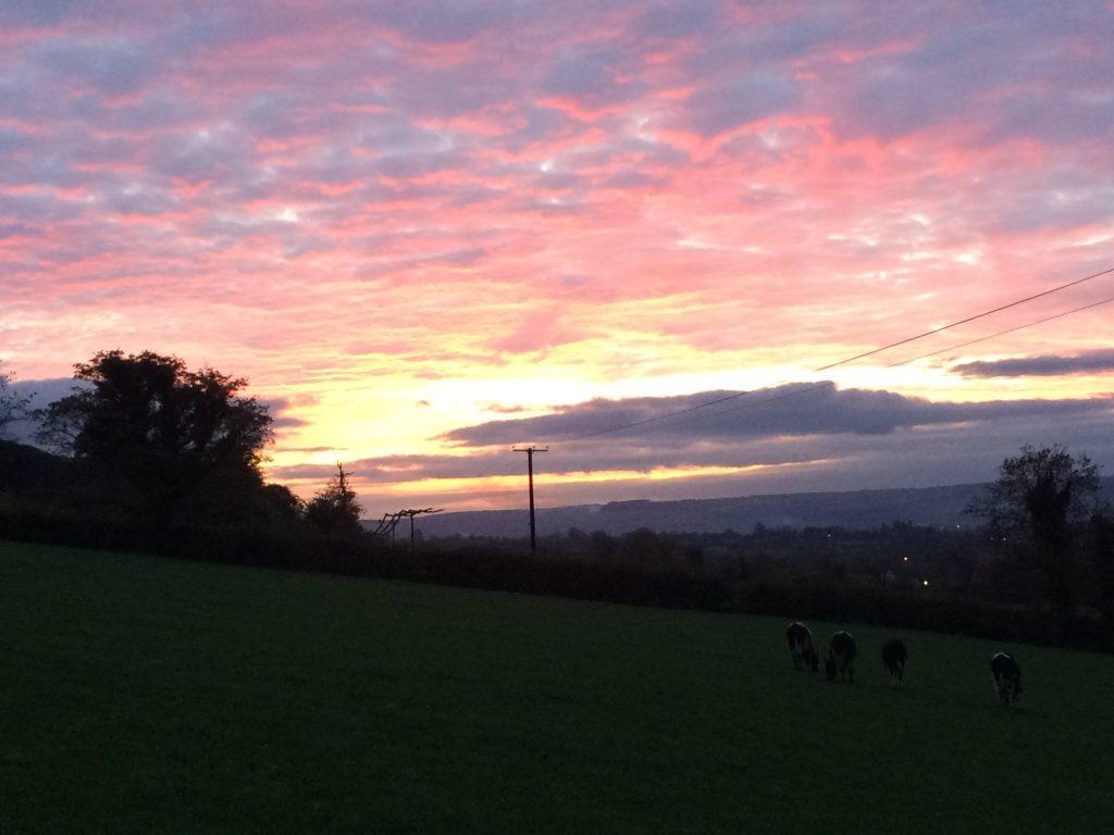 Irish sunset