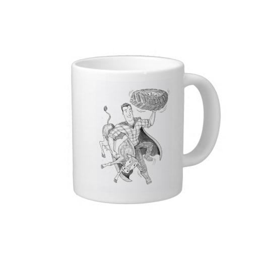Christmas Gift Idea - Super Farmer Mug