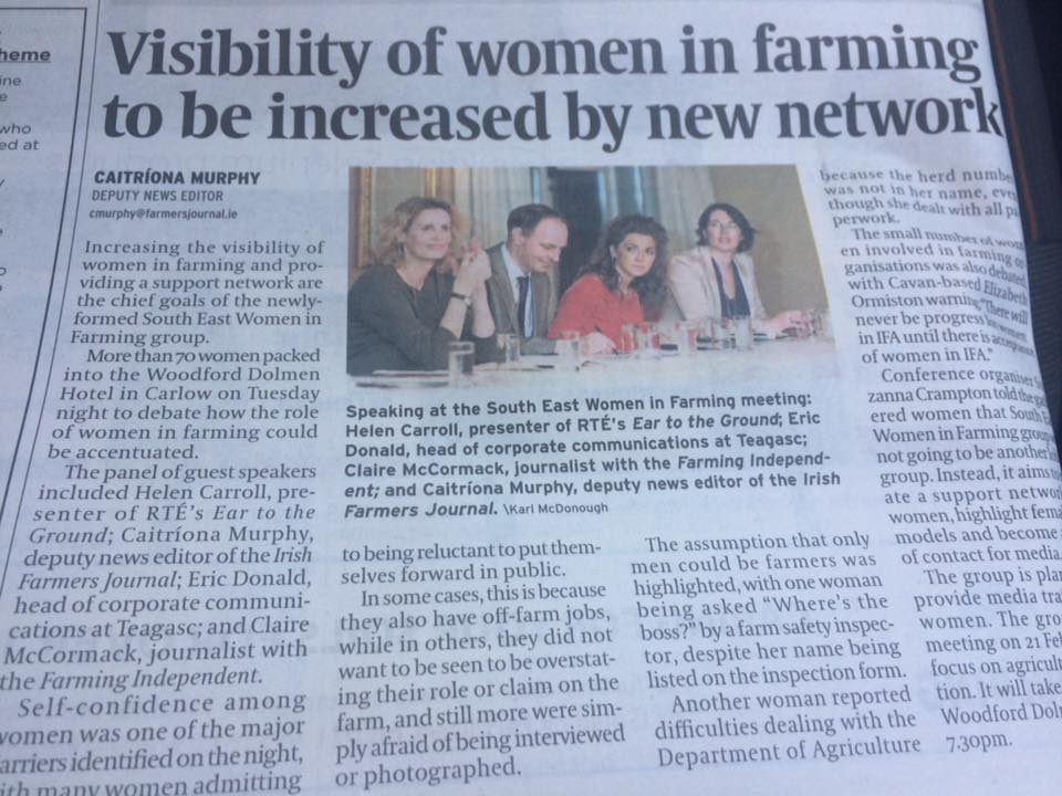 SE Women in Farming in Farmers Journal