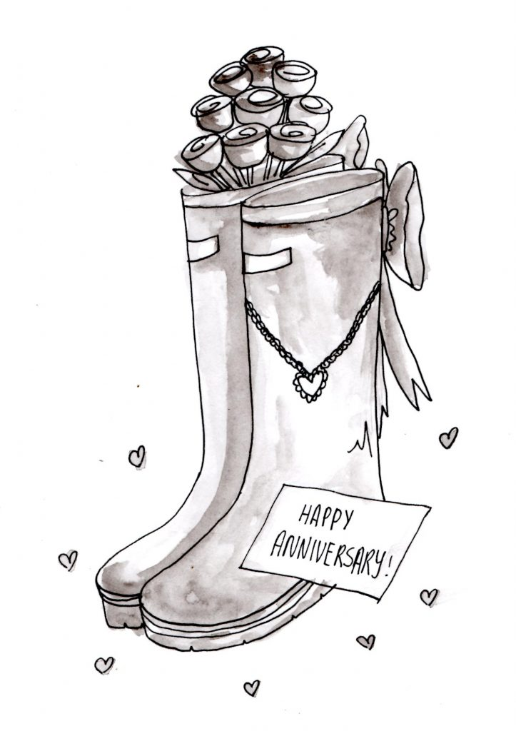 Gifts for Valentine's Day - never give wellies without jewellery!
