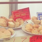 "My daughter won first prize with the scones by the way, not me! Recipe is in the book ""How to be a Perfect Farm Wife"""