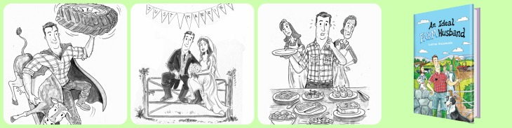 Ideal Farm Husband illustrations