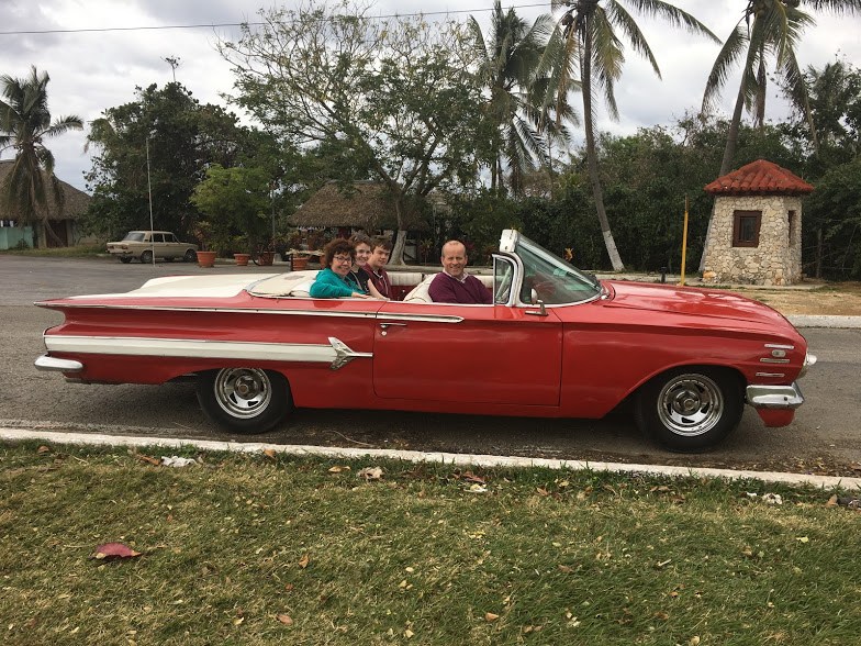 Convertible Chevy Taxi Havana