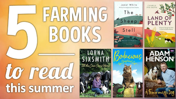 5 Farming Books to read this Summer
